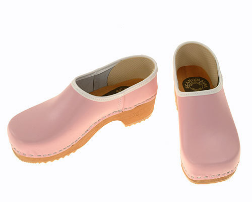 Clogs closed pink