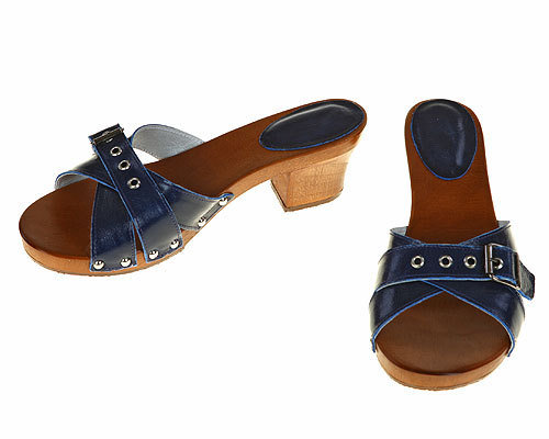 Three strips Sandal blue