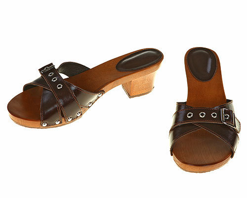Three strips Sandal brown