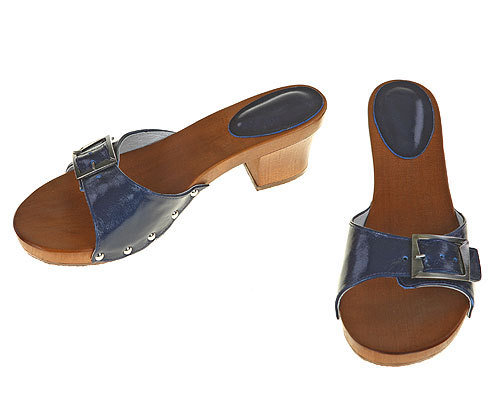 One strip Sandal blue