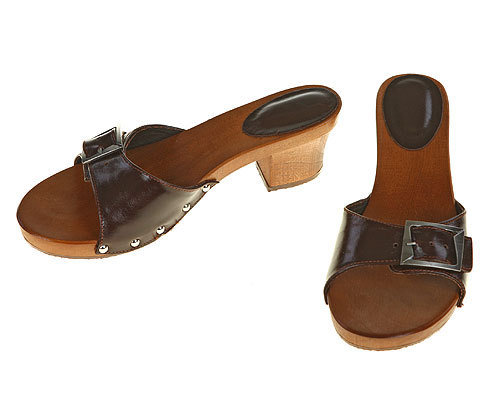 One strip Sandal brown