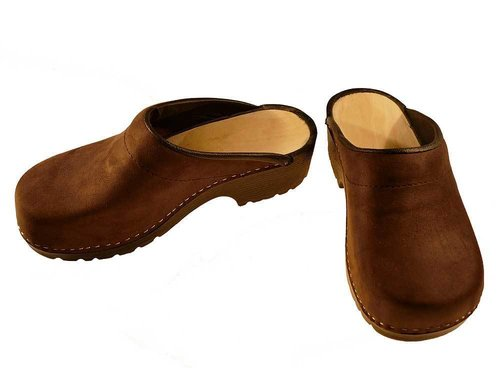 Soft Clogs nubuk leather