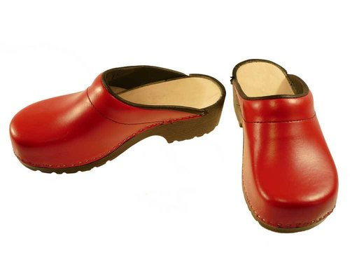 Soft Clogs red